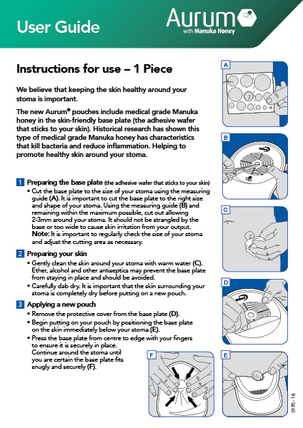 Aurum Instructions For Use