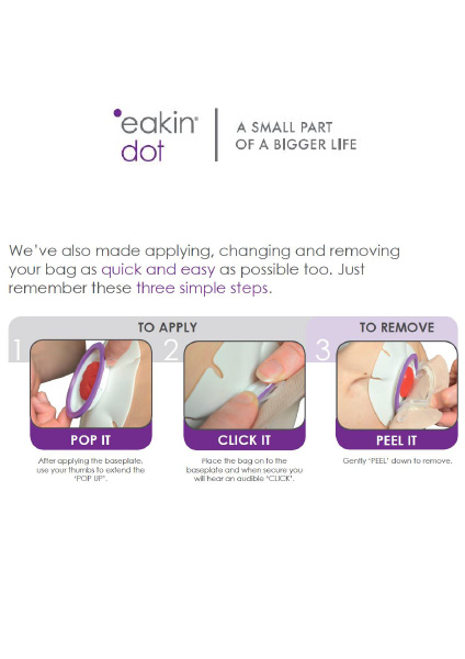 Eakin dot 2-piece Instructions For Use